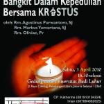 """KMK Univ. Budi Luhur mengadakan """"MISA PASKAH GABUNGAN"""" 2010"""