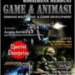 Seminar Pembuatan Game dan Animasi