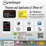 """Seminar  """"Features&Application of iPhone 4s"""""""