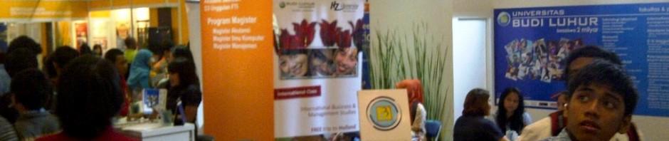 UBL dan ASTRI – Education Expo JCC 24-27 Jan 2013