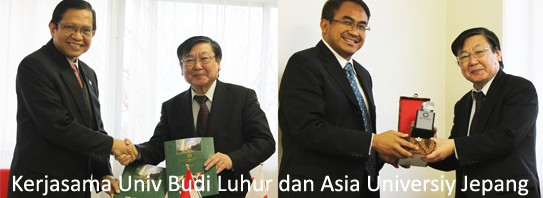 Kerjasama Univ Budi Luhur dan Asia University Jepang