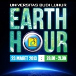 UBL Mendukung Earth Hour 2013