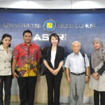 Kunjungan Kanda Institute Of Foreign Language Jepang di UBL