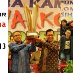 UBL Juara Pertama Lomba Kampus Bersih Narkoba 2013