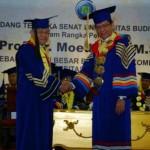 Pengukuhan Prof. Dr. Moedjiono,M.Sc sebagai Guru Besar Bidang Ilmu Komputer Universitas Budi Luhur