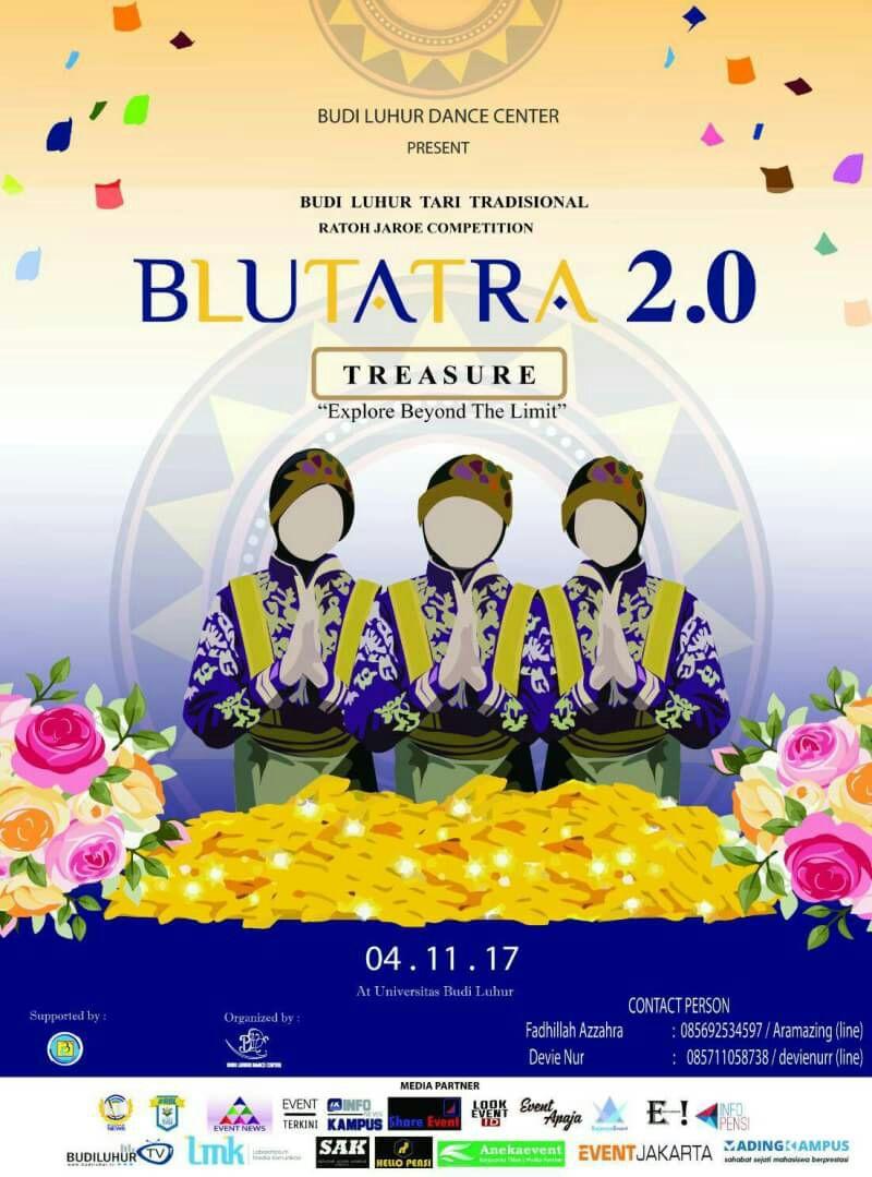 BLUTARA 2.0 (Budi Luhur Tari Tradisional Ratoh Jaroe Competition)
