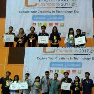 [:id]Mahasiswa FIKOM Meraih Juara 1 dan 2 di Informatics Champions 2017, UNESA, Surabaya [:en]IKOM's students Winning the 1st and 2nd in the Informatics Champions 2017, UNESA, Surabaya[:]