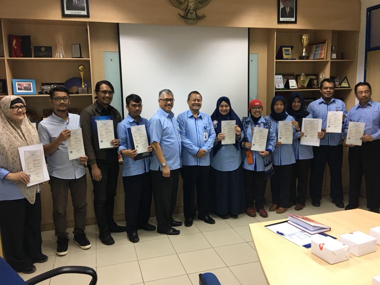 enam belas karya cipta dari universitas budi luhur resmi memiliki rh budiluhur ac id