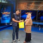 Mahasiswa/i Fikom Budi Luhur dari konsentrasi Public Relation melakukan kunjungan ke NET. TV