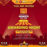 [:id]Awarding Night Festival Film Dokumenter Budi Luhur 2018[:]
