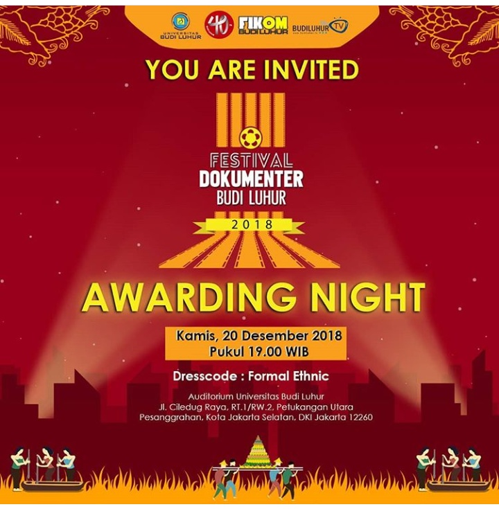 [:id]AWARDING NIGHT FESTIVAL FILM DOKUMENTER BUDI LUHUR 2018[:]