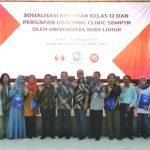 Sosialisasi Kegiatan Kelas 12 Dan Coaching Clinic SBMPTN Oleh Universitas Budi Luhur
