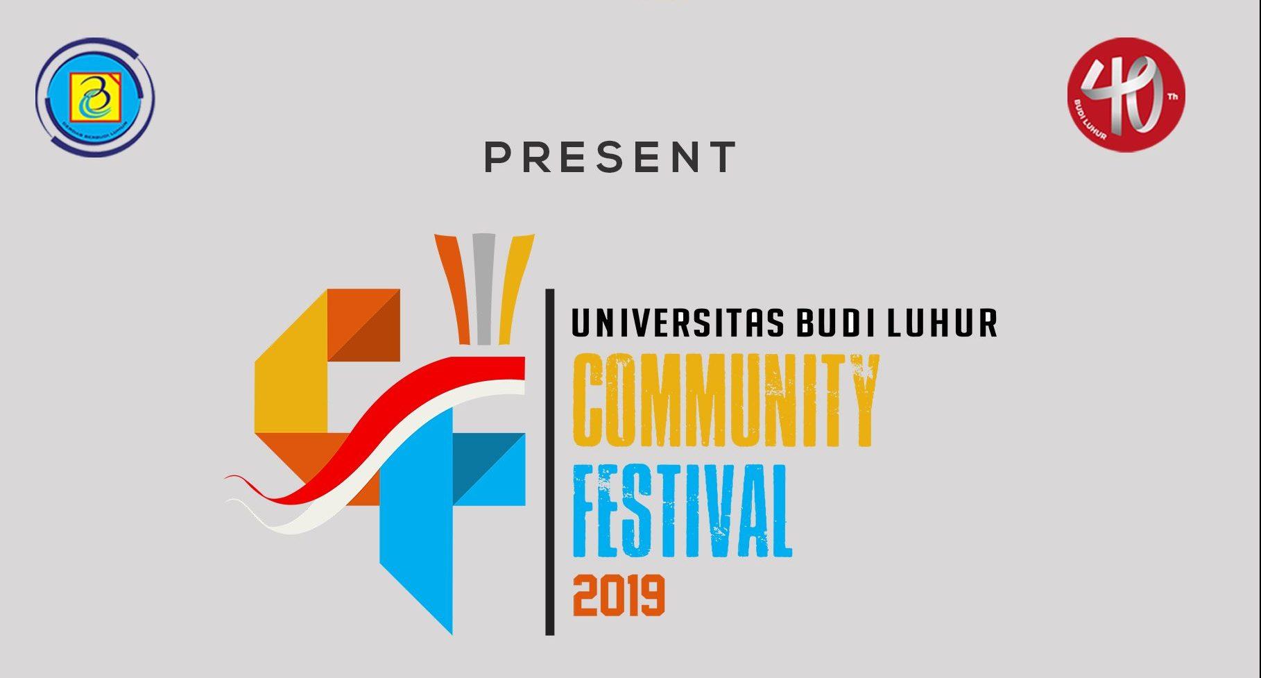Budi Luhur Community Festival 2019
