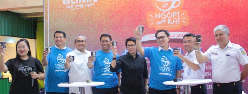 Komunitas Kopi Nusantara Pada Acara Ngopi Bareng KAI