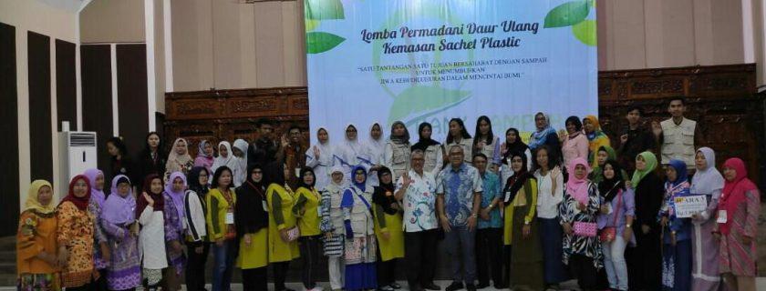 Universitas Budi Luhur dan Bank Sampah Budi Luhur Mengadakan Lomba Permadani Daur Ulang Kemasan Sachet Plastik