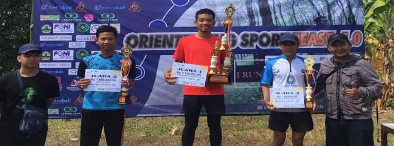 Selamat! Makopala Budi Luhur Juara 3 di Orienteering Sport Feast 1.0 Tahun 2019