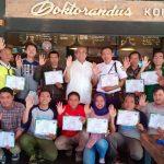 Mahasiswa hingga Dosen Budi Luhur Raih Sertifikat Pelatihan Bencana