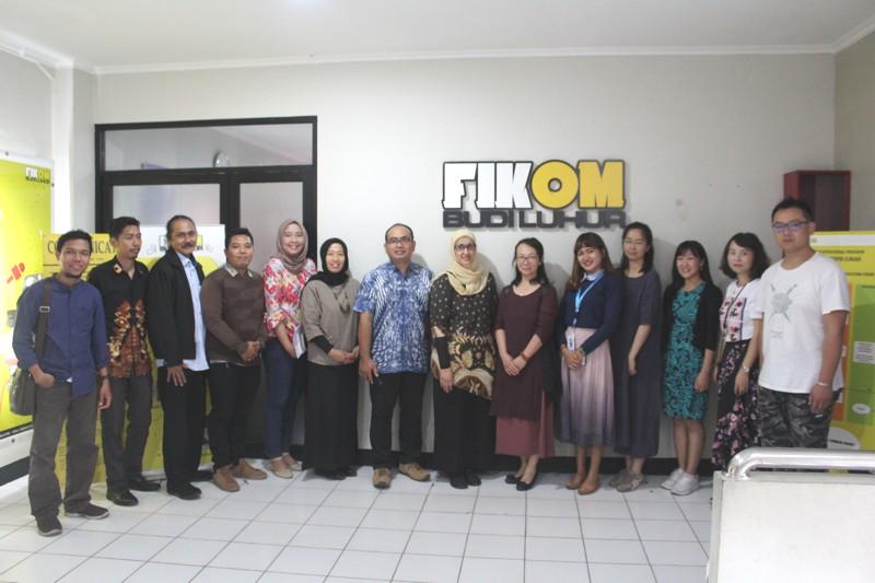 Tertarik dengan industri perfilman Indonesia, Yunnan Normal University pilih lakukan studi banding ke Fikom Budi Luhur