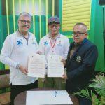 Penandatangan MoU antara Universitas Budi Luhur dengan Institut Sains dan Teknologi Al-Kamal (ISTA)