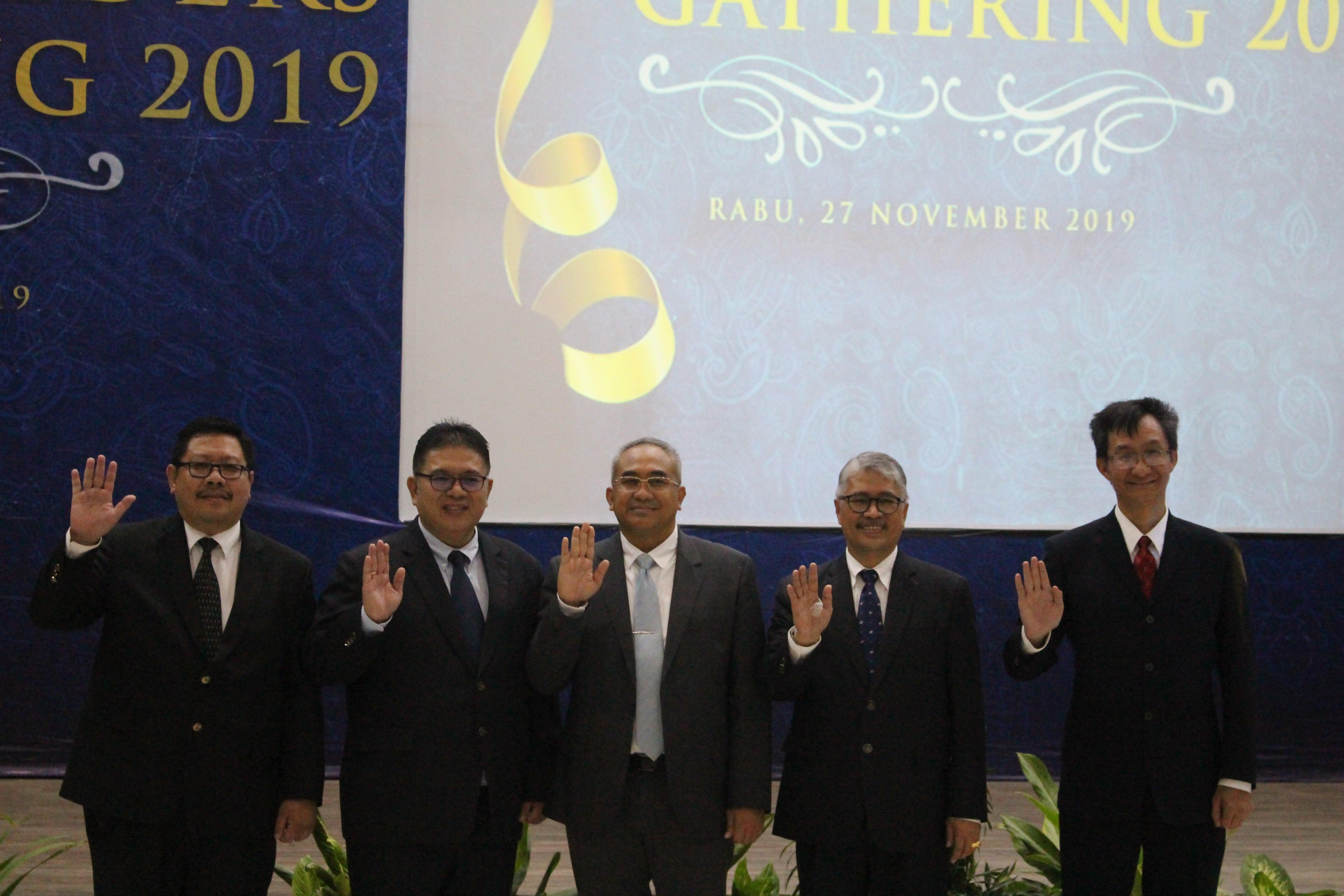 Pengenalan Rektor Baru Universitas Budi Luhur Dr. Wendi Usino Dengan Stakeholders
