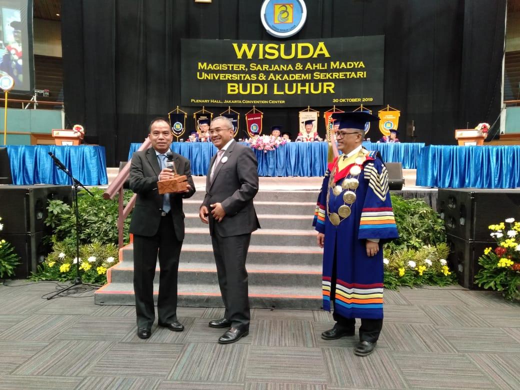Universitas / Akademi Sekretari Budi Luhur Laksanakan Wisuda Semester Genap 2018/2019