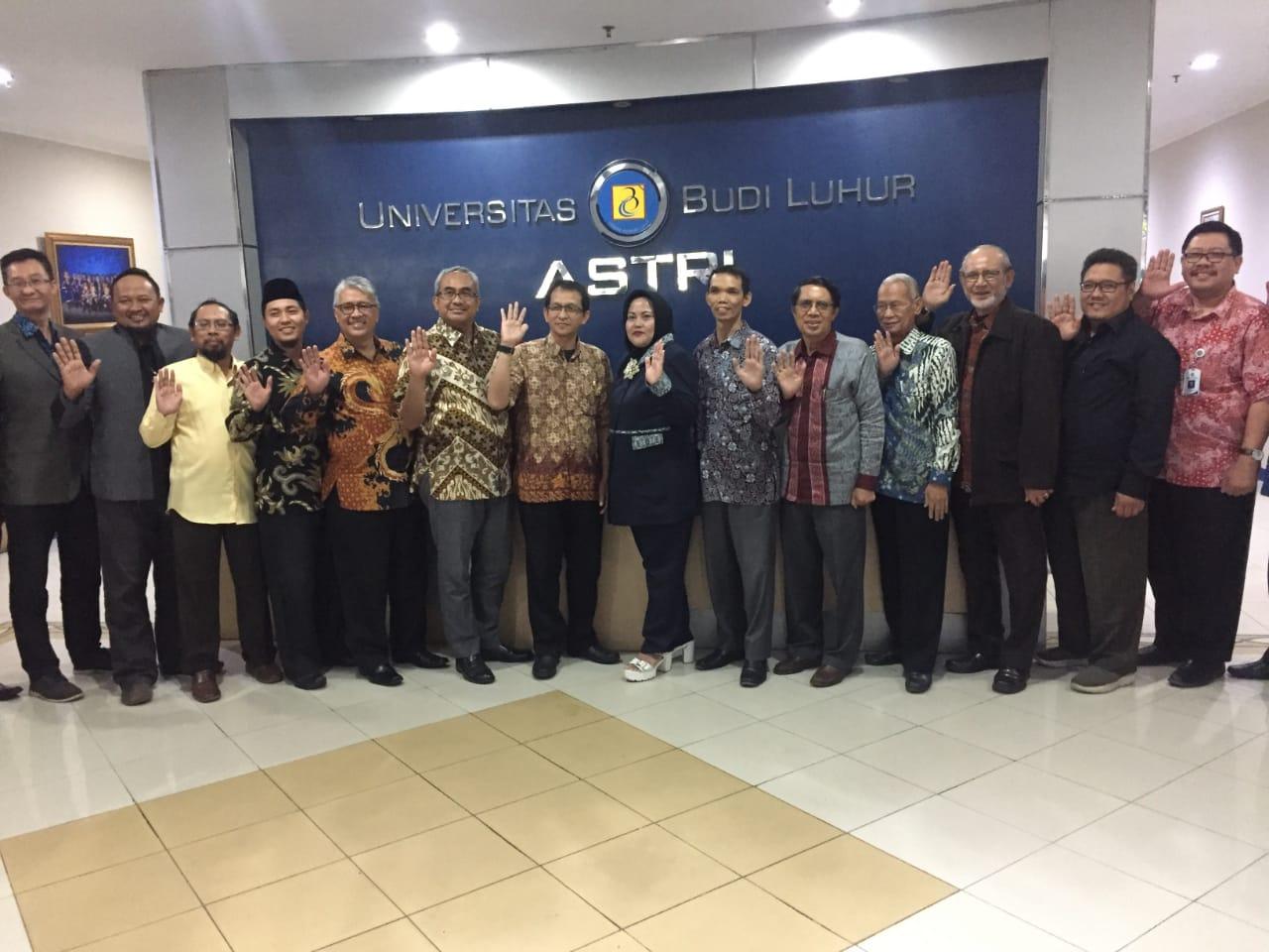 Yayasan Budi Luhur Sakti melakukan penandatanganan Memorandum of Understanding (MoU) bersama Yayasan Pambudi Luhur dan Yayasan Cahaya Ilmu Cimahi (YCIC)