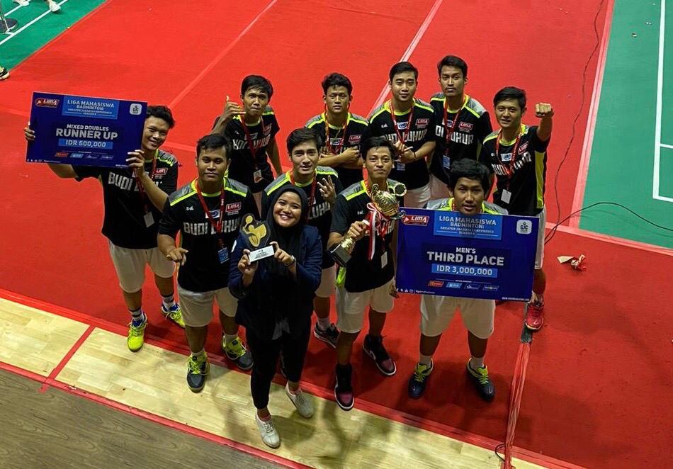 Budi Luhur Badminton Club Sabet 2 Juara Sekaligus di Liga Mahasiswa Season 8