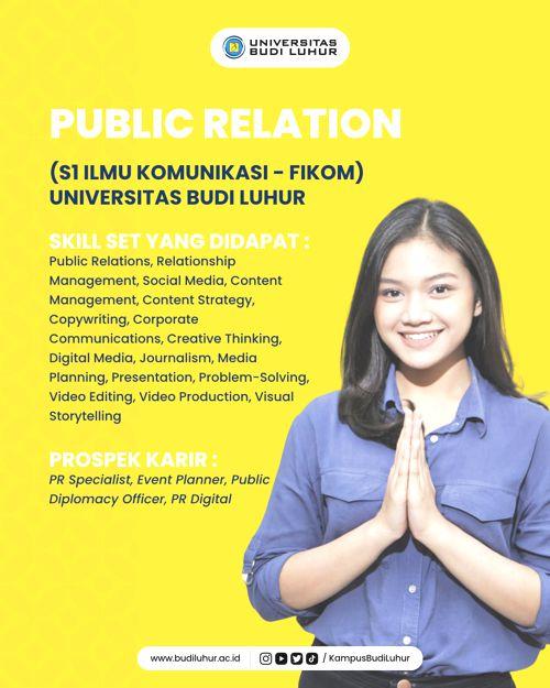 25. PUBLIC RELATION (S1 ILMU KOMUNIKASI)