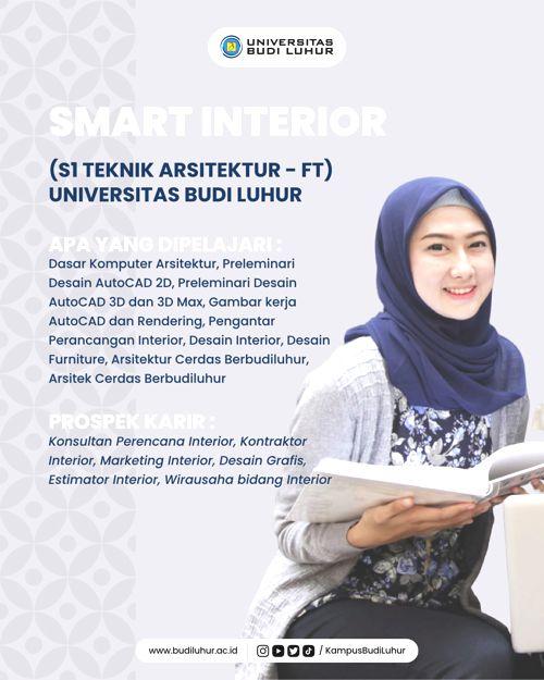 41. SMART INTERIOR (S1 TEKNIK ARSITEKTUR)