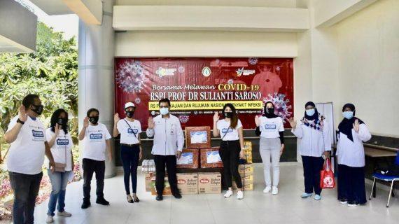 Peduli Tenaga Medis, Universitas Budi Luhur Donasikan APD dan Logistik ke RSPI Sulianti Saroso sebagai RS Rujukan Utama Pasien COVID-19
