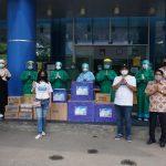 Berbagi Kebaikan di Bulan Ramadhan Universitas Budi Luhur Donasikan APD  Untuk Paramedis RSUD Tangerang Kota