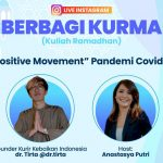 "Usir Corona Dengan ""Positive Movement"" Ala Dokter Tirta Bersama Universitas Budi Luhur"