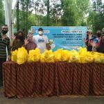 Universitas Budi Luhur Bersama Alumni Bagikan Sembako Ramadan Untuk Para Pahlawan Keluarga