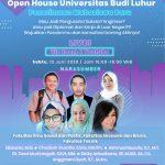 Keunggulan Universitas Budi Luhur Untuk Mewujudkan Prospek Karir yang Diidamkan! Pada Acara Open House Universitas Budi Luhur