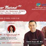 5 Tips Membangun Bisnis di Era Pandemi Covid-19 Bersama Asosiasi Pelaku Reksa Dana Indonesia (APRDI)