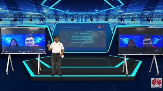 Universitas Budi Luhur Berhasil Juarai Kompetisi Huawei ICT Tingkat Nasional 2020