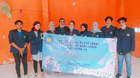 Mahasiswa UBL Berikan Sosialisai Pencegahan Covid-19 Selama KKN di Jakarta