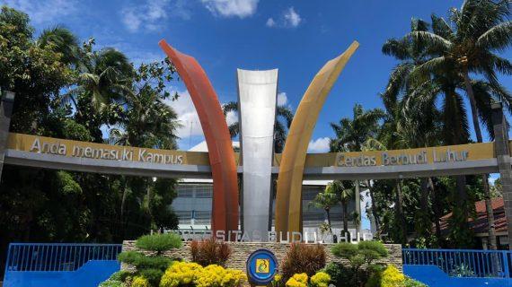 Universitas Budi Luhur raih Penghargaan Sebagai Perguruan Tinggi Berkelanjutan Terbaik di Indonesia dari UI GreenMetric 2020