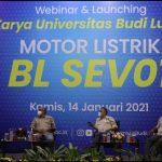 Universitas Budi Luhur Resmi Luncurkan Motor Listrik BL-SEV01 Bergaya Sporty