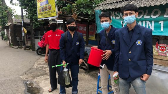 Mahasiswa UBL Melaksanakan Pengabdian Kepada Masyarakat di Masa Pandemi COVID-19