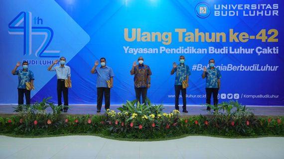 42 Tahun Yayasan Pendidikan Budi Luhur Cakti, Bahagia Berbudi Luhur Ditengah Pandemi Covid-19