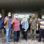 Rektor Dan Para Dosen Universitas Budi Luhur  Menjalani Vaksinasi Covid-19 Tahap Pertama