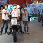 Universitas Budi Luhur Pamerkan Tiga Motor Listrik di IIMS Hybrid 2021