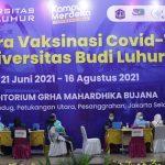 Daftar Vaksin via Online di Universitas Budi Luhur