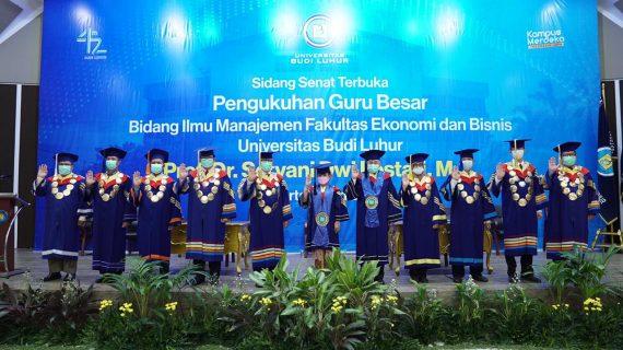 Universitas Budi Luhur Kukuhkan Guru Besar Ilmu Manajemen Prof. Dr. Setyani Dwi Lestari, ME