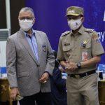 Walikota Jakarta Selatan Memantau Sentra Vaksin Usia 12-17 Tahun di Universitas Budi Luhur