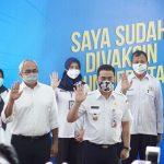 Wagub DKI Tinjau Vaksinasi di Universitas Budi Luhur