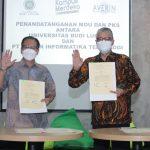 Universitas Budi Luhur Tandatangani Kerjasama PT Averin Tentang Peningkatan Mutu Kelembagaan