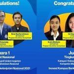 """Mahasiswa Budi Luhur Juara 1 dan 2 Videografi """"Inovasi Kampus Berkelanjutan Nasional 2021"""""""