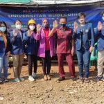 Mahasiswa Universitas Budi Luhur Sosialisasi Tentang Kebersihan Lingkungan dan Protokol Kesehatan